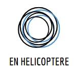 en helicoptère